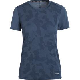 saucony Ramble Short Sleeve Women, azul